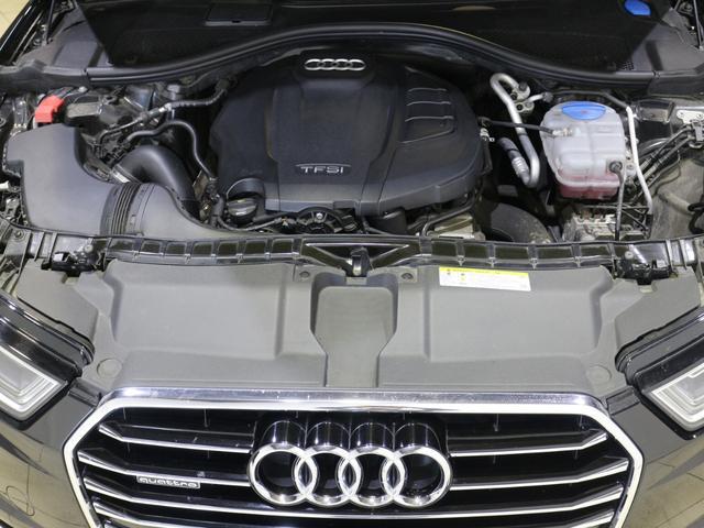 ルマン24時間レースで優れた燃費性能が証明されたアウディ独自のFSI。高圧のガソリンをエンジンのシリンダー内に直接噴射することで燃料を効率的に燃焼させハイパワーと高効率を両立します