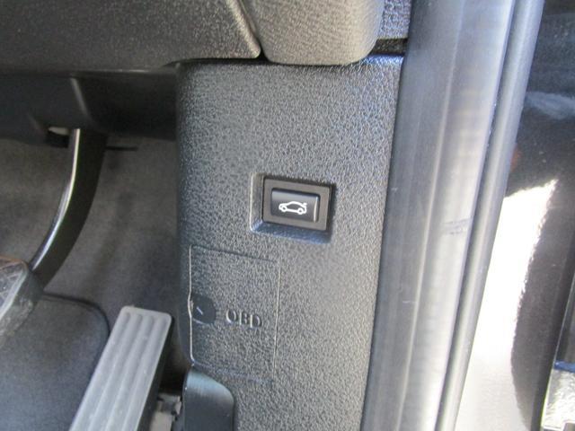 テールゲートは運転席からもアクセス可能