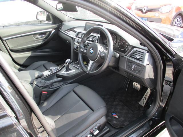 320i xDriveツーリング Mスポーツ 黒革 LED(10枚目)
