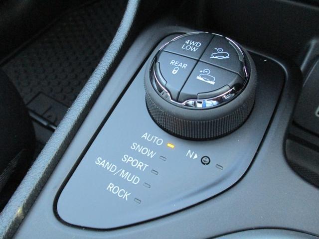 4WDのモード切替スイッチ!
