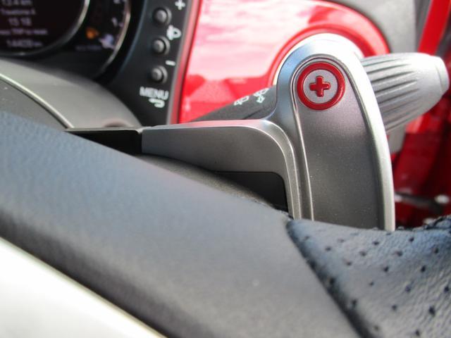 任意のタイミングでギヤを選択することのできるパドルシフト。冬道などエンジンブレーキを活用する際にも便利ですね。