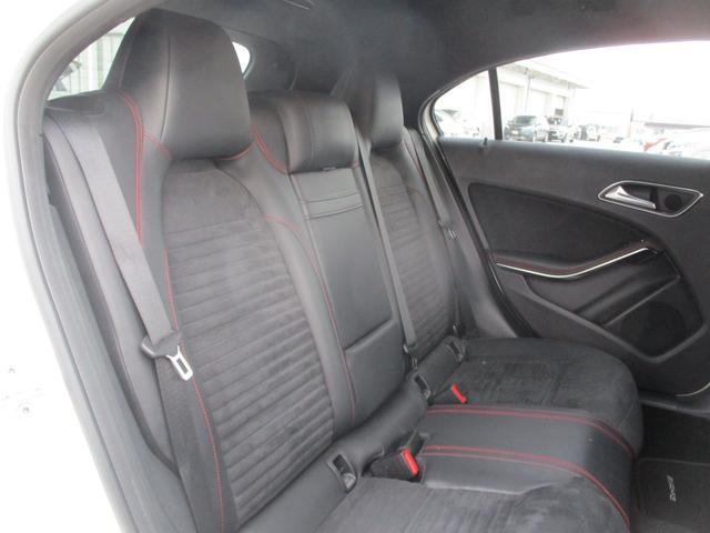 A180 スポーツ ナイトPKGプラス AMGスポーツPKG 電動半革シート フルセグHDDナビ キセノン バックカメラ 前後ソナー パドルシフト AMG18AW シートヒーター ETC2.0 アイドリングS(13枚目)