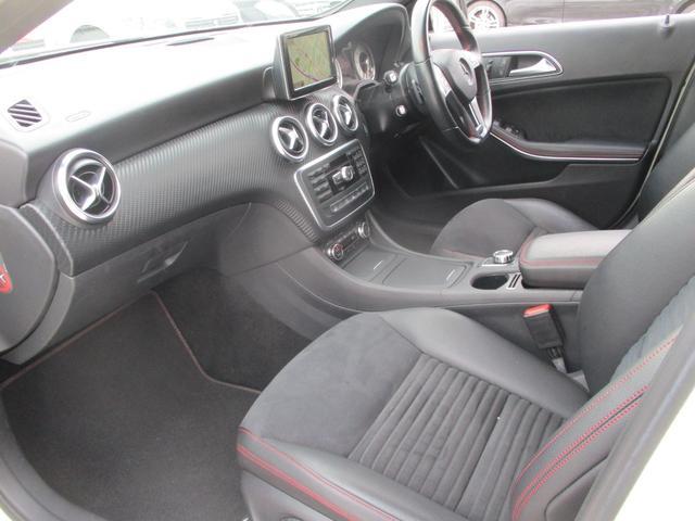 A180 スポーツ ナイトPKGプラス AMGスポーツPKG 電動半革シート フルセグHDDナビ キセノン バックカメラ 前後ソナー パドルシフト AMG18AW シートヒーター ETC2.0 アイドリングS(14枚目)