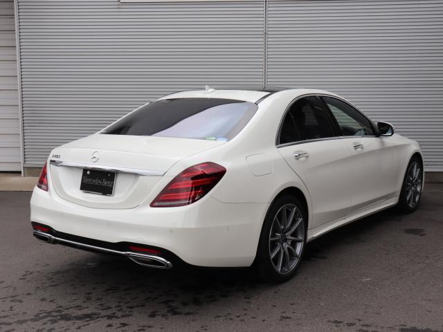 S450エクスクルーシブ MercedesBenz認定中古車(5枚目)