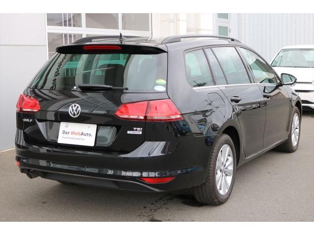 フォルクスワーゲン VW ゴルフヴァリアント TSI Comfortline ワンオーナー ナビTV