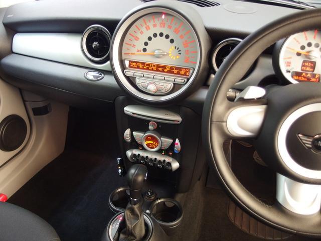 MINI MINI クーパー 1オーナー HIDライト クリアレンズ パドルS