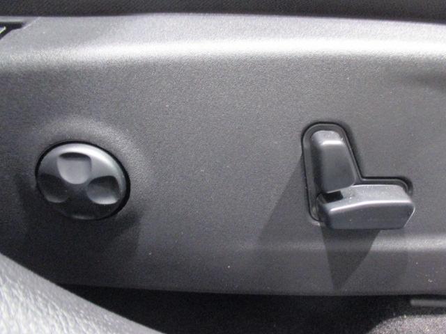 パワーシートでジャストな位置で快適ドライブを!
