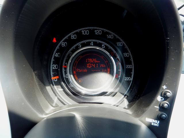 フィアット フィアット 500 1.2 スポーツ 5速MT ハーフレザーシート ナビ ETC