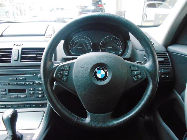BMW BMW X3 2.5si 4WD HDDナビ キセノン シートヒーター