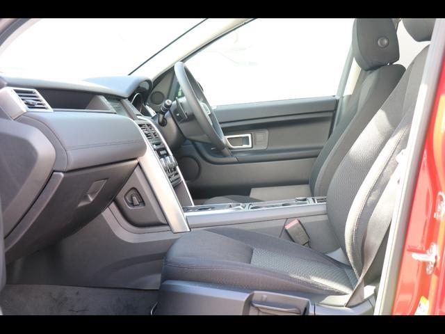 6ウェイ電動調整式シート(運転席)、手動調整式シート(運転席&助手席)