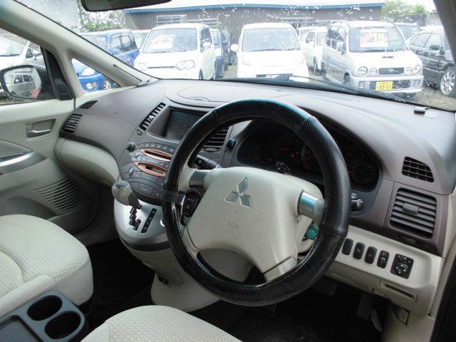 三菱 グランディス HDDナビエディション エレガンス 4WD