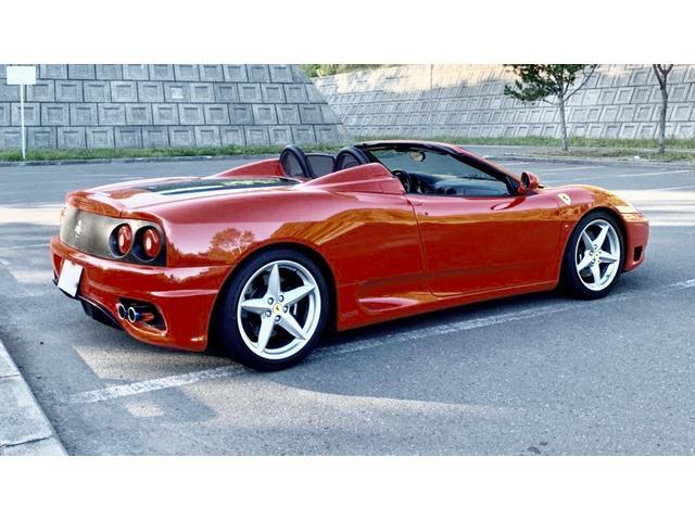 「フェラーリ」「360」「オープンカー」「北海道」の中古車6