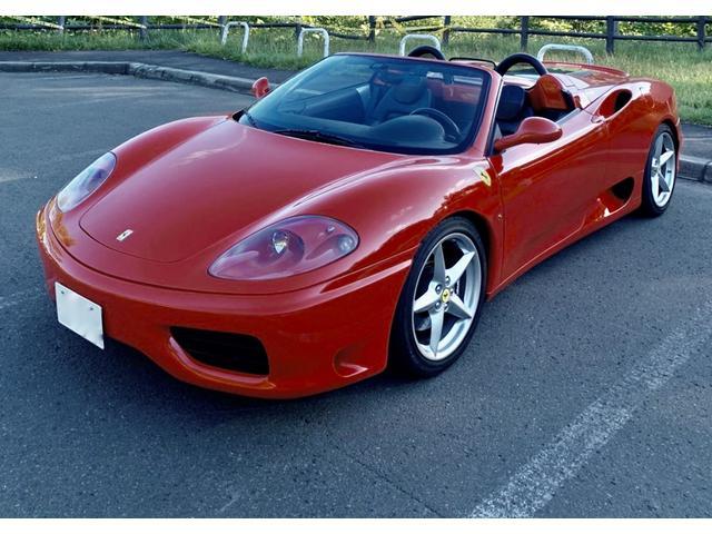 「フェラーリ」「360」「オープンカー」「北海道」の中古車8