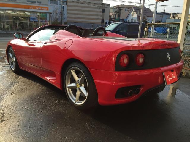 「フェラーリ」「360」「オープンカー」「北海道」の中古車24