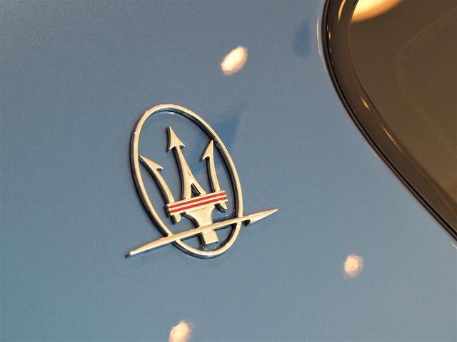 Cピラーは様々な角度から差し込んだ光を、きらびやかに反射するようにデザインされており、「輝き」や「雷」を意味する「サエッタ」ロゴが施されております。