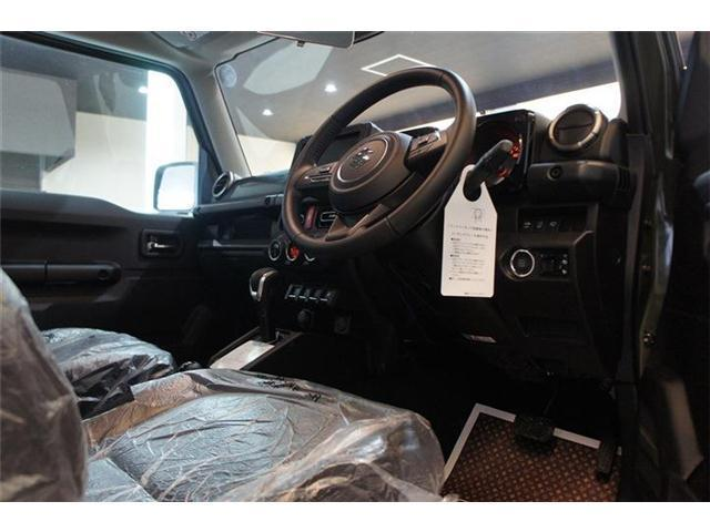 JC 4WD 登録済未使用車 シート&ミラーヒーター(7枚目)