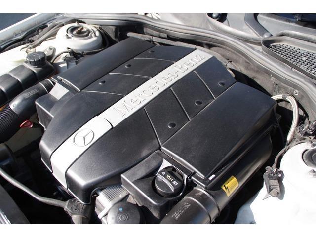 S320 ホワイト サンルーフ 革シート パワーシート(3枚目)