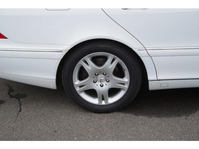 S320 ホワイト サンルーフ 革シート パワーシート(10枚目)