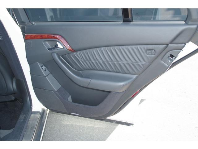S320 ホワイト サンルーフ 革シート パワーシート(17枚目)