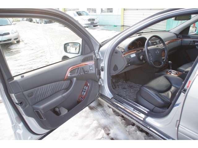 S430 4マチック 4WD エアサス V8 本革シート(16枚目)