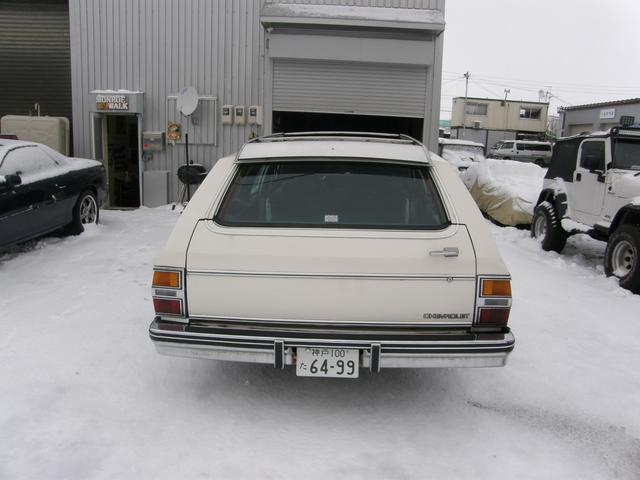 「シボレー」「シボレーカプリス」「ステーションワゴン」「北海道」の中古車3