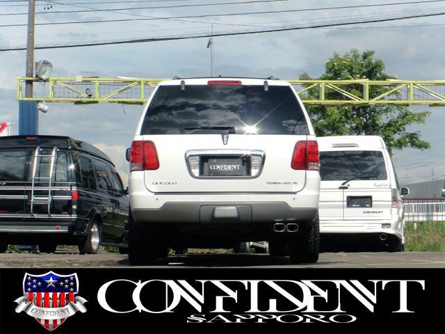 リンカーン リンカーン ナビゲーター アルティメイト 4WD バネサス 社外23インチ 走行証明付