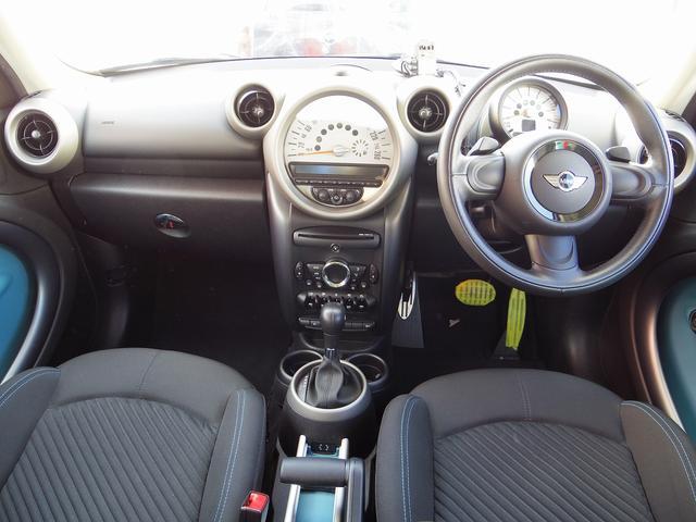 クーパーS クロスオーバー オール4 純CD ETC 4WD(12枚目)