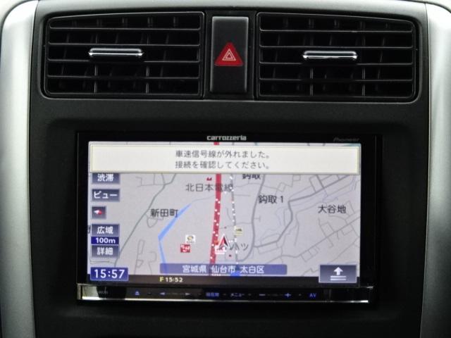 マツダ AZオフロード XC リフトアップ 外マフラー オーバーF 社外ナビTV