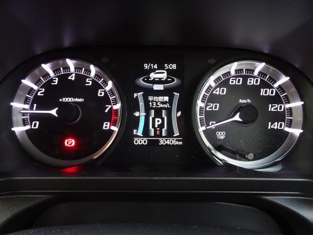 カスタム RS ハイパーSA 4WD 純正ナビ バックカメラ(8枚目)