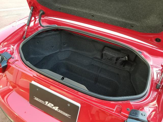 アバルト アバルト124 スパイダー レザーナビパッケージ
