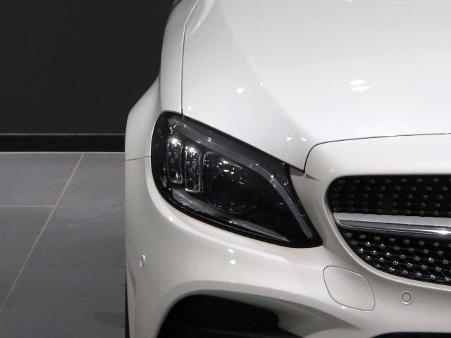 C200 4マチックアバンギャルド AMGライン AMGスタイリング マルチビームLED アンビエントライト エアサス レーダーセーフティ 純正ナビ Rカメラ(7枚目)