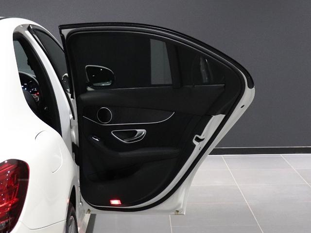 C200 4マチックアバンギャルド AMGライン AMGスタイリング マルチビームLED アンビエントライト エアサス レーダーセーフティ 純正ナビ Rカメラ(16枚目)