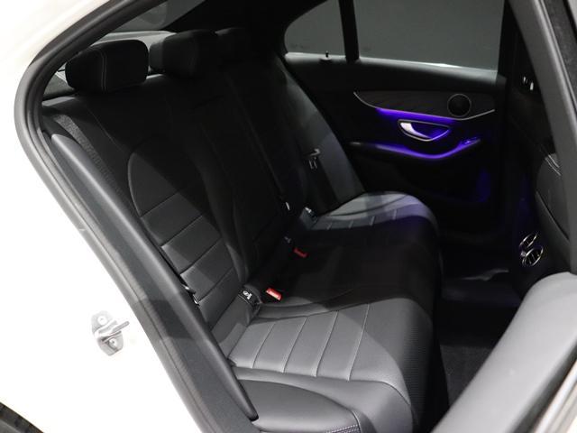 C200 4マチックアバンギャルド AMGライン ワンオーナー 純正オレンジフレームAW AMGスタイリング マルチビームLED アンビエントライト エアサス レーダーセーフティ(11枚目)