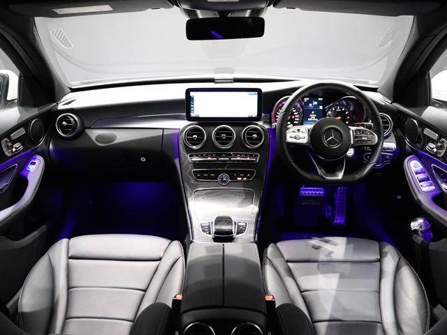 C200 4マチックアバンギャルド AMGライン ワンオーナー 純正オレンジフレームAW AMGスタイリング マルチビームLED アンビエントライト エアサス レーダーセーフティ(28枚目)