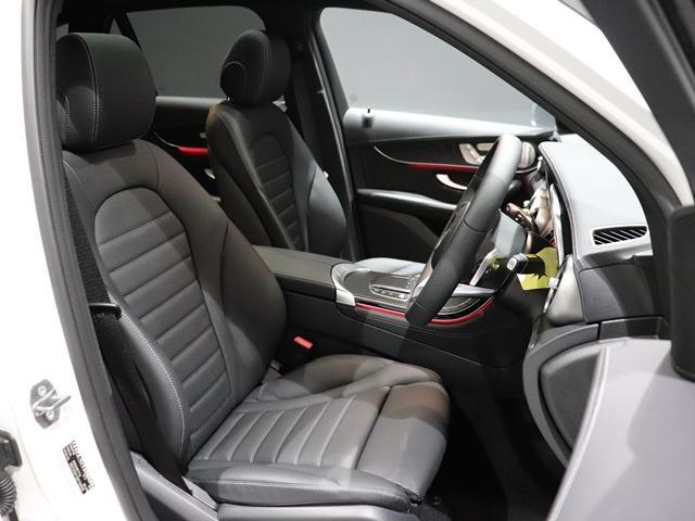 GLC220d 4マチック AMGライン ワンオーナー レザーEXC サンルーフ コックピッドディスプレイ Burmester 本革シート フットトランクオープナー マルチビームLED(8枚目)