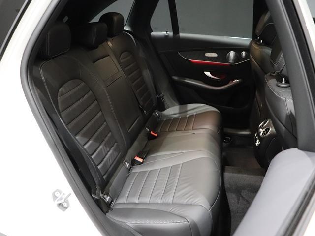 GLC220d 4マチック AMGライン ワンオーナー レザーEXC サンルーフ コックピッドディスプレイ Burmester 本革シート フットトランクオープナー マルチビームLED(9枚目)