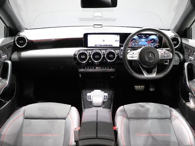 A250 4マチックセダン AMGライン ナビPKG マルチビームLED レーダーセーフティ AMGスタイリング スポーツステアリング レザーDINAMICAシートレッドステッチ入(25枚目)
