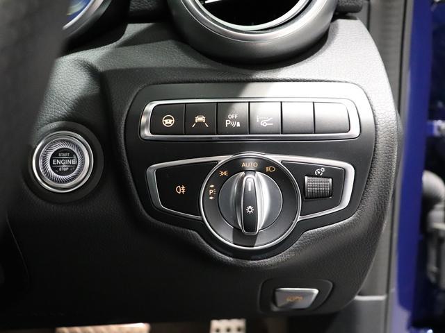 C43 4マチック サンルーフ AMGエグゾースト Burmester AMGスポーツステアリング フットトランクオープナー 純正ドライブレコーダー マルチビームLED アンビエントライト(17枚目)
