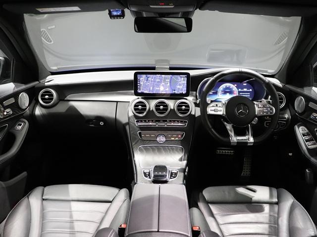 C43 4マチック サンルーフ AMGエグゾースト Burmester AMGスポーツステアリング フットトランクオープナー 純正ドライブレコーダー マルチビームLED アンビエントライト(23枚目)