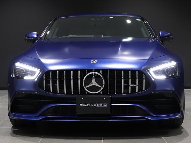 43 4マチック+ ブリリアントブルーマグノ EXC PKG サンルーフ ナッパレザー Burmester ベンチレーター AMGエグゾースト AMGスピードシフト AMG強化ブレーキ AMGパフォーマンスステアリング(3枚目)