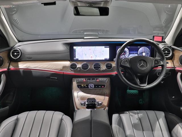 E400 4マチック エクスクルーシブ マルチビームLED AIR BODYサスペンション フットトランクオープナー 本革シート アンビエントライト 全方位カメラ 前後シートヒーター ヘッドアップディスプレイ(27枚目)
