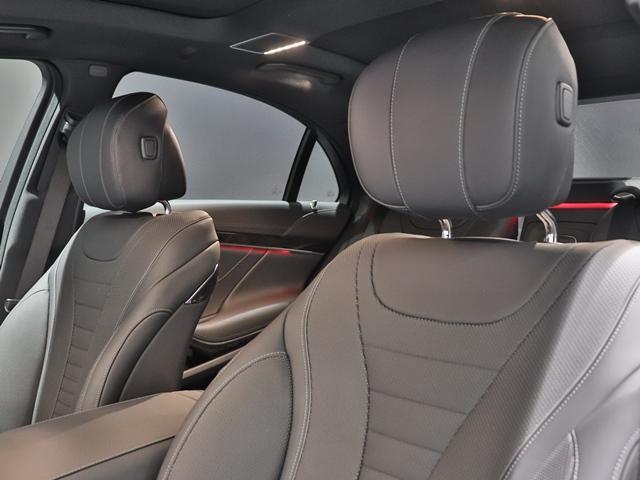 S560 4マチックロング スポーツリミテッド ワンオーナー AMGスタイリング サンルーフ AIR MATICサスペンション マルチビームLED Burmester 4ゾーンエアコン エアバランス ベンチレーター ヘッドアップディスプレイ(13枚目)