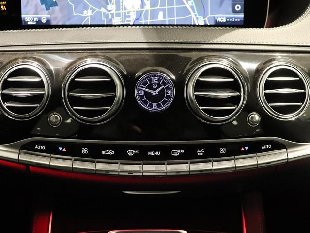S560 4マチックロング スポーツリミテッド ワンオーナー AMGスタイリング サンルーフ AIR MATICサスペンション マルチビームLED Burmester 4ゾーンエアコン エアバランス ベンチレーター ヘッドアップディスプレイ(34枚目)