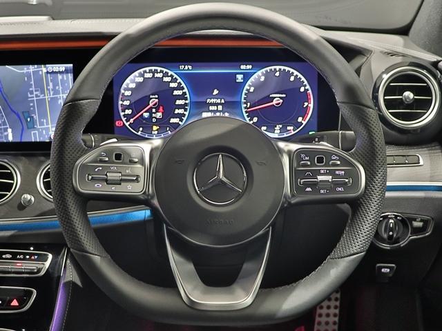 E200ステーションワゴンアバンギャルドAMGライン ワンオーナー EXC 本革シート マルチビームLED AMGスポーツステアリング Burmester 全席シートヒーター エアバランス ヘッドアップディスプレイ フットトランクOP(26枚目)