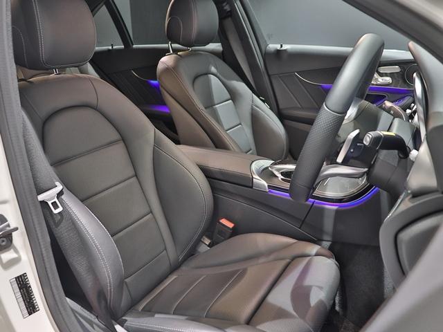 C200 4マチック ローレウスエディション スポーツプラスPKG AMGライン AIR BODY CTRサスペンション コックピッドディスプレイ フットトランクオープナー スポーツシート マルチビームLED スポーツシート HUD(10枚目)