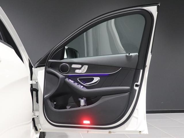 C200 4マチック ローレウスエディション スポーツプラスPKG AMGライン AIR BODY CTRサスペンション コックピッドディスプレイ フットトランクオープナー スポーツシート マルチビームLED スポーツシート HUD(22枚目)