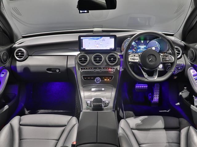 C200 4マチック ローレウスエディション スポーツプラスPKG AMGライン AIR BODY CTRサスペンション コックピッドディスプレイ フットトランクオープナー スポーツシート マルチビームLED スポーツシート HUD(25枚目)