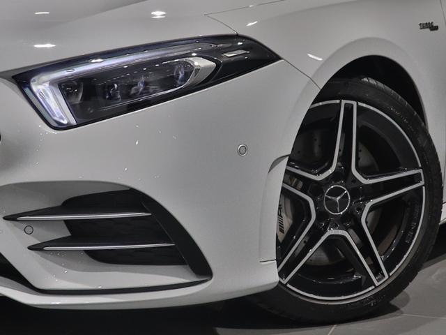 A35 4マチックセダン ワンオーナー AMGアドバンスドPKG サンルーフ AMG強化ブレーキ AMGサスペンション ナビゲーションPKG 全方位カメラ エナジャイジング 本革シート ヘッドアップディスプレイ マルチLED(4枚目)