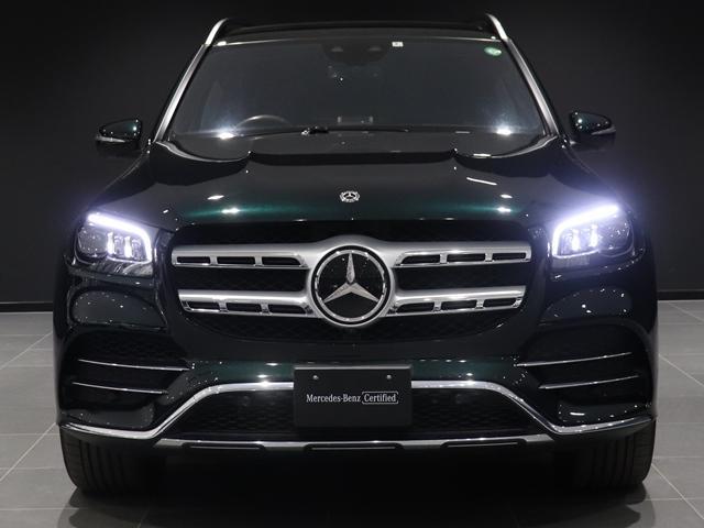 GLS400d 4マチック AMGライン ワンオーナー Off-RoadエンジニアリングPKG ローレンジギアBOX 強化アンダーフロアパネル AMG21インチAW 本革巻ウッドステアリング ステアリングヒーター リラクゼーション(7枚目)