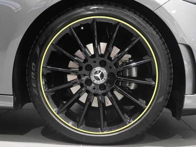 A180 エディション1 限定車 ブラックペイントAMG19インチAW ナイトPKG ブラックエグゾーストエンド マルチビームLED 全方位カメラ アドバンスドサウンド レザーDINAMICA(グリーンステッチ) HUD(10枚目)